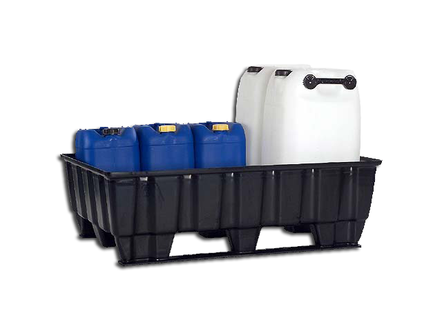 Pallet tub 235 Liters Runner without Grating