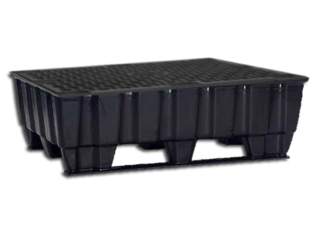 Pallet tub 215 Liters Runner with Plastic-Grid