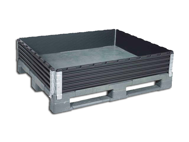 Pallet Collar 1200 x 1200 mm with 4 Hinges
