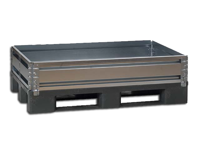 Pallet Collar 1200 x 1200 mm with 6 Hinges - ST