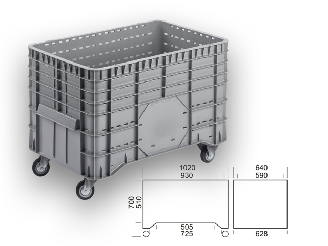 GBDR 106470 - wheel box / container