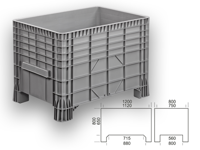 GBG 128080 - large box / container