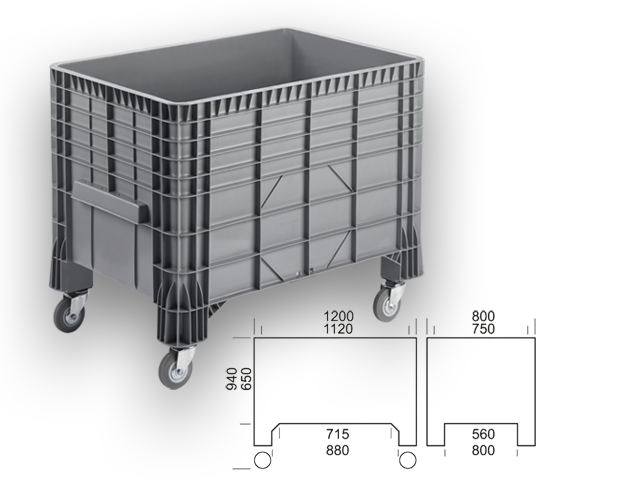 GBGR 128094 - wheel box / container
