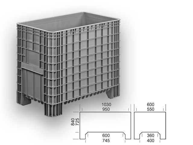 GBG 106084 - large box / container
